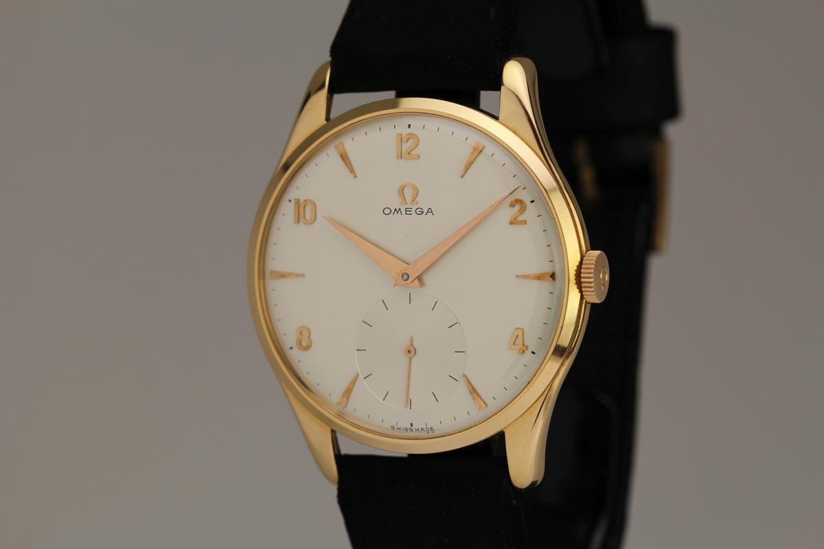 Hublot Watch Price >> 1950 Omega Oversized Calatrava Watch For Sale - Mens ...