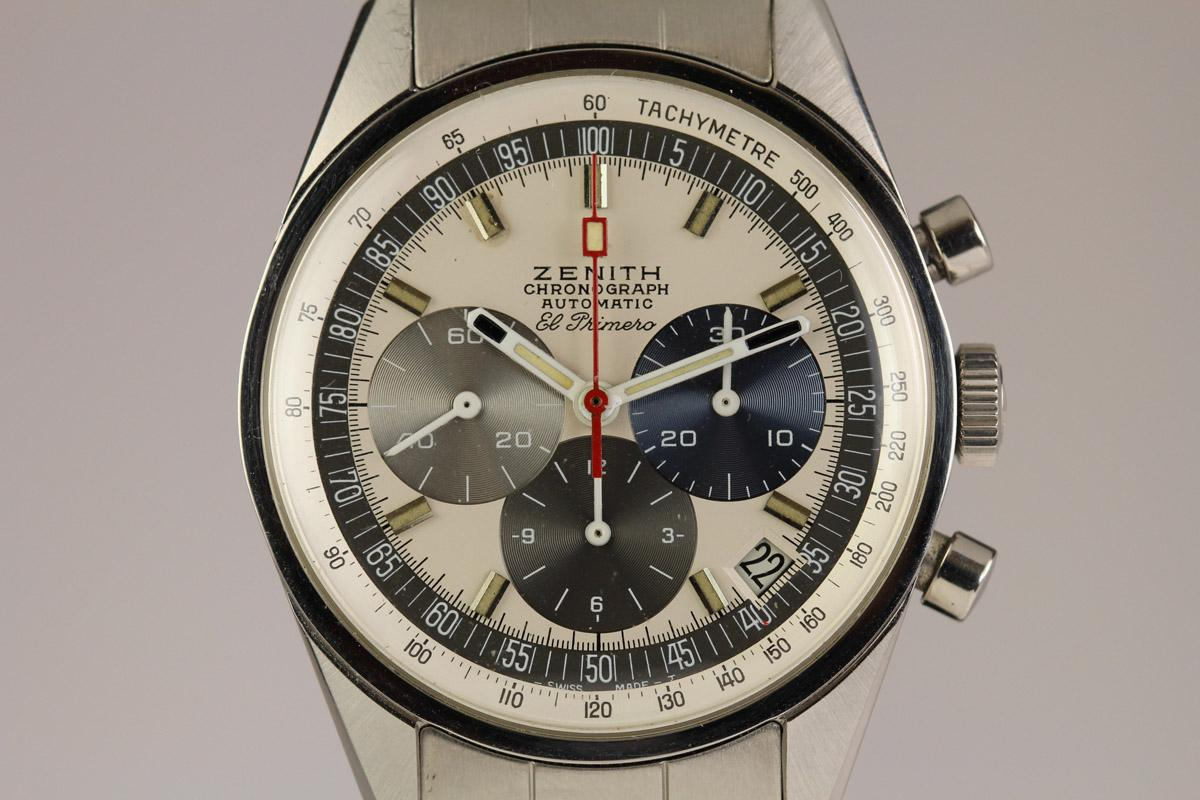1960 zenith el primero watch for sale mens vintage chronograph. Black Bedroom Furniture Sets. Home Design Ideas