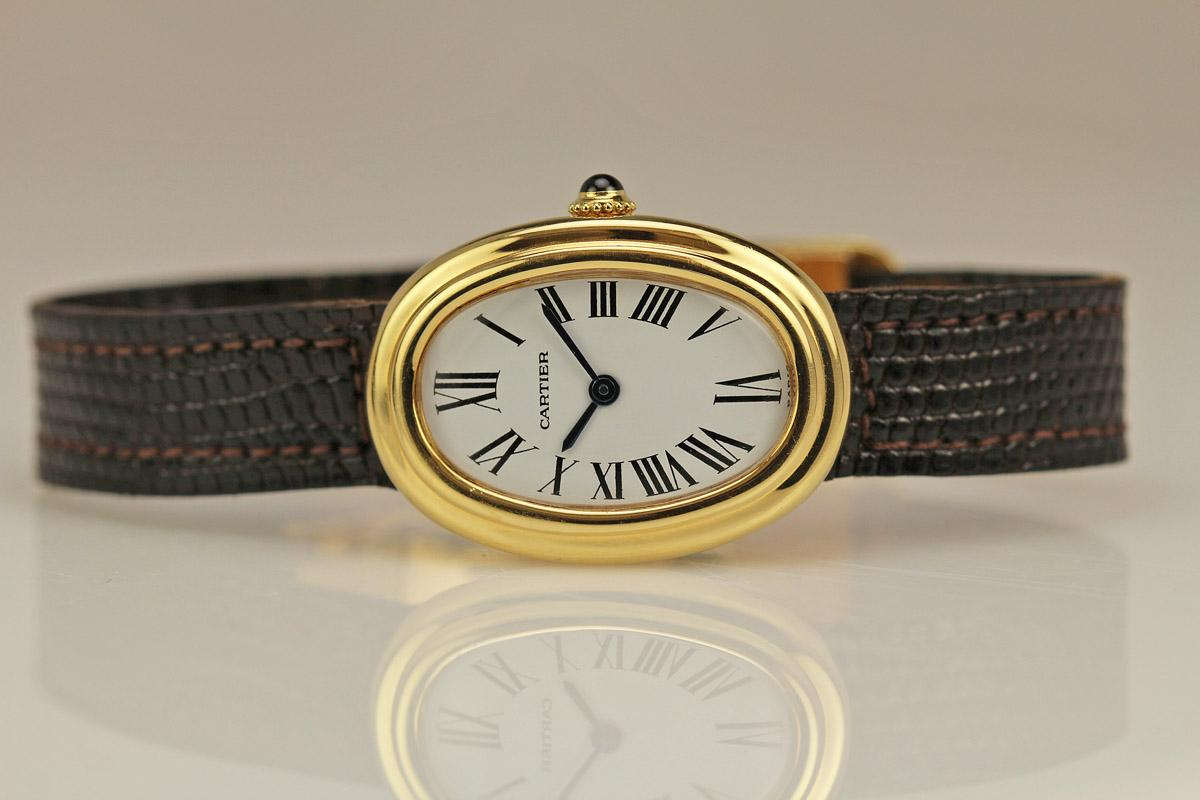 1960 Cartier Baignoire Watch For Sale Ladies Vintage Time Only