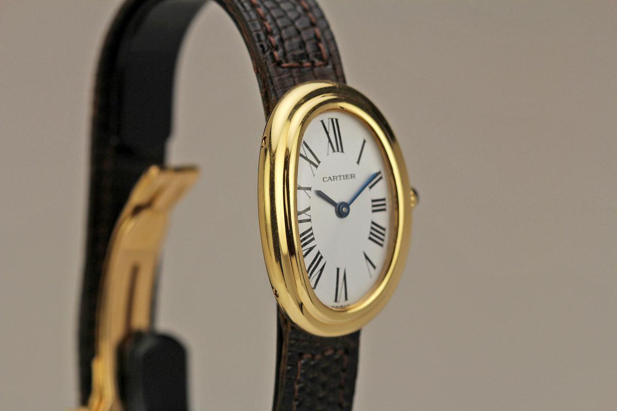 1960 Cartier Baignoire Watch For Sale Ladies Vintage