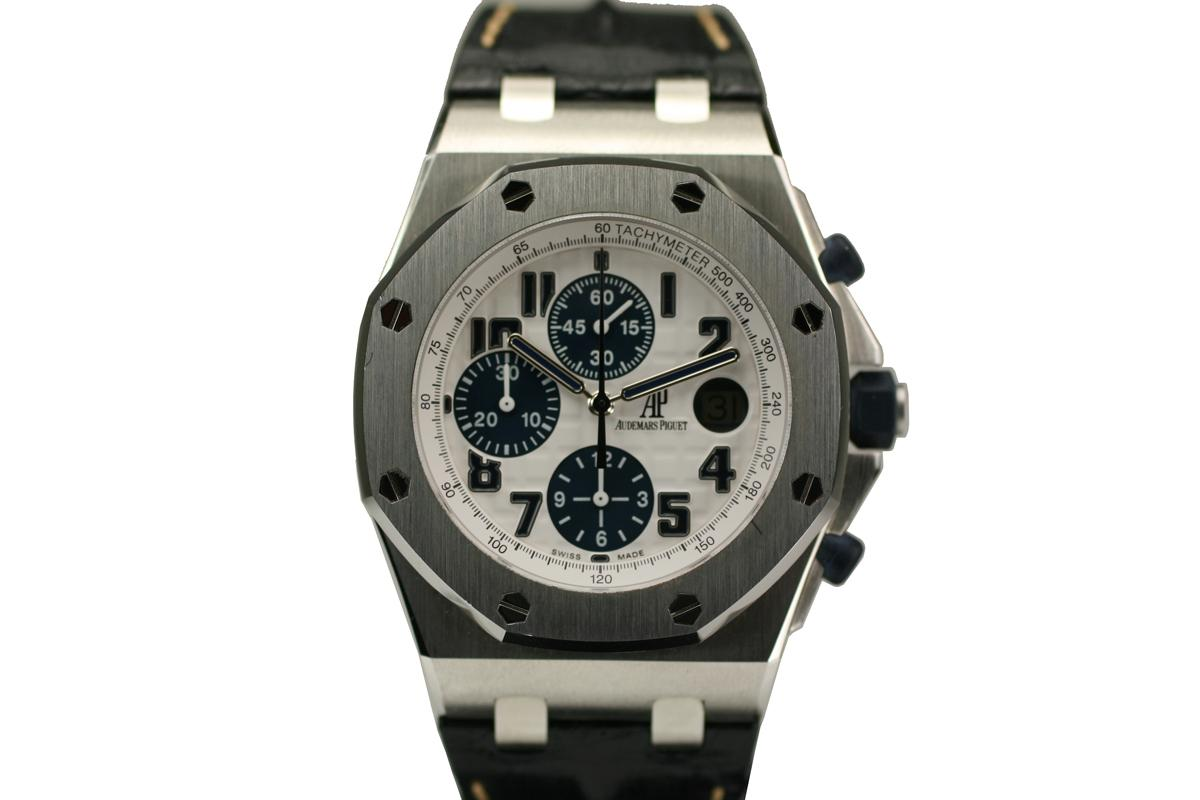 2000 audemars piguet offshore navy for sale mens