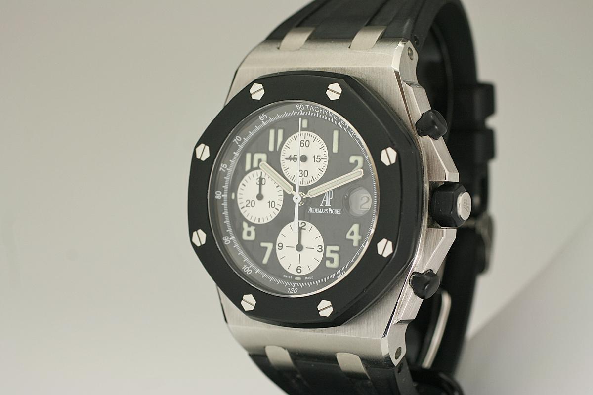 2000 Audemars Piguet Offshore Rubberclad Watch For Sale
