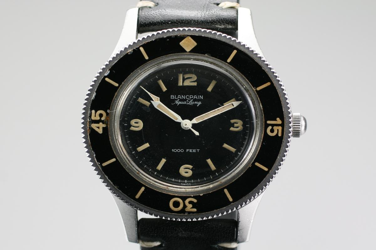 1950 blancpain fifty fathoms aqualung for sale