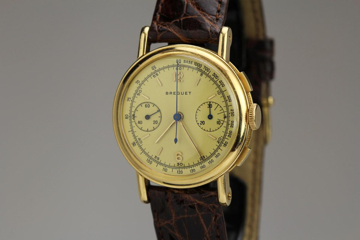 1960 Breguet Chronograph Watch For Sale Mens Vintage