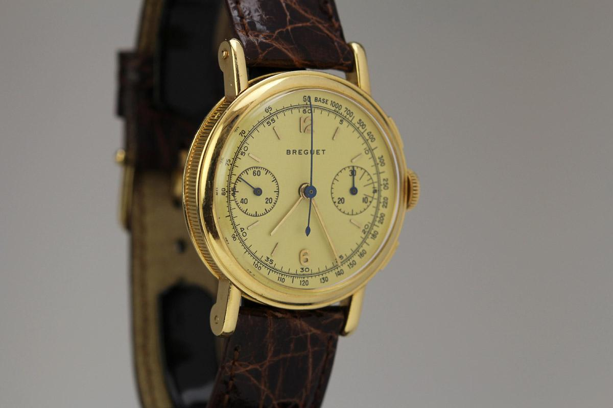 Omega Watch Price >> 1960 Breguet Chronograph Watch For Sale - Mens Vintage Chronograph