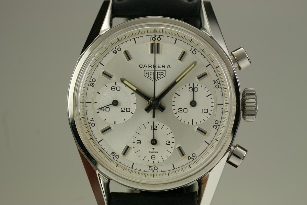 8c6152c36da 1960 Heuer Carrera Chronograph Watch For Sale - Mens Vintage Chronograph