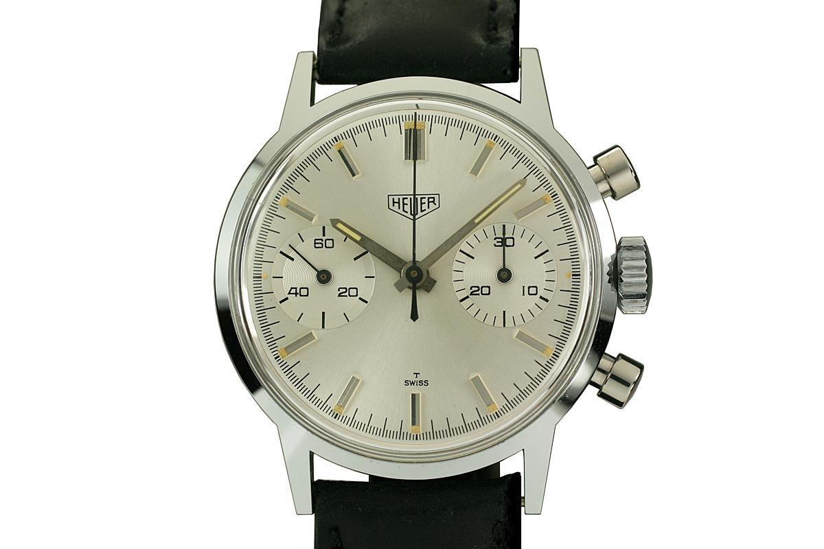 1960 Heuer Chronograph Ref 3641 Watch For Sale  Mens Vintage