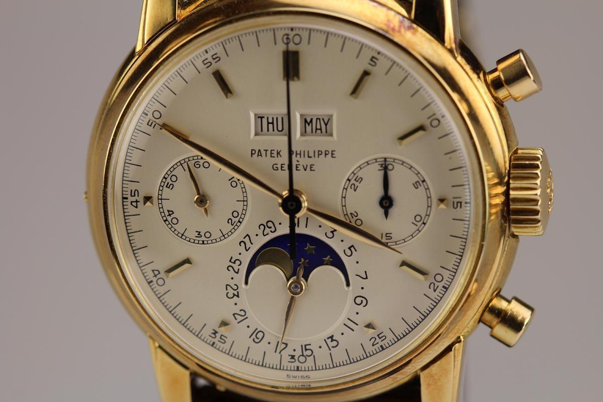 Perpetual Calendar Patek : Patek philippe perpetual calendar chronograph ref