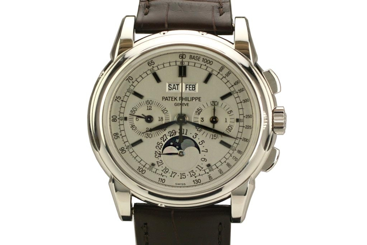 Omega Authorized Dealer >> 2006 Patek Philippe Complicated Perpetual Calendar ...