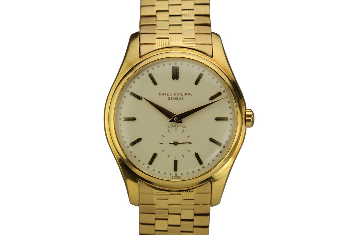 1950 patek philippe calatrava ref 2526 retailed by g belin watch for sale mens vintage time only for Patek phillipe watch