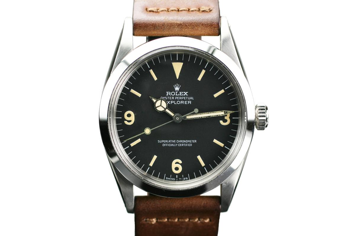 1966 Rolex Explorer Ref 1016 Watch For Sale  Mens Vintage Time only