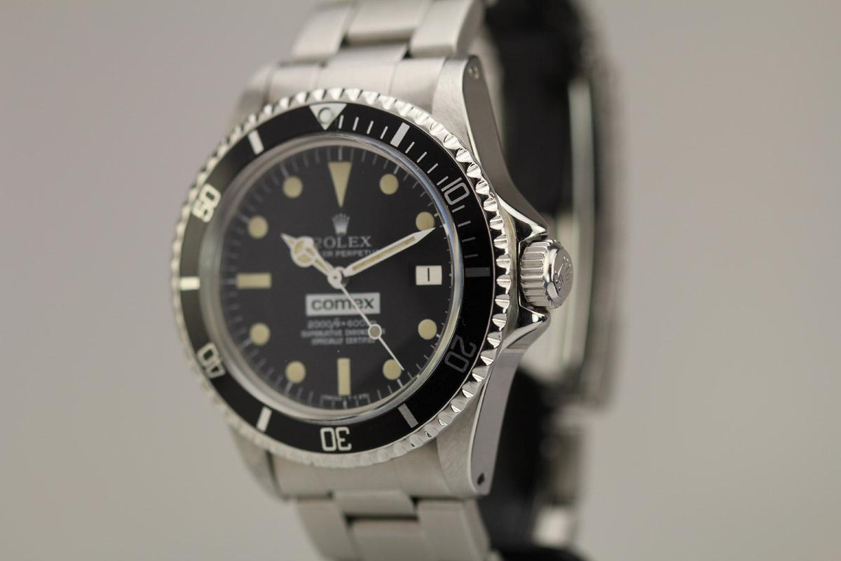 Vintage Tudor Watches >> 1977 Rolex Comex Sea-Dweller Ref 1665 Watch For Sale ...