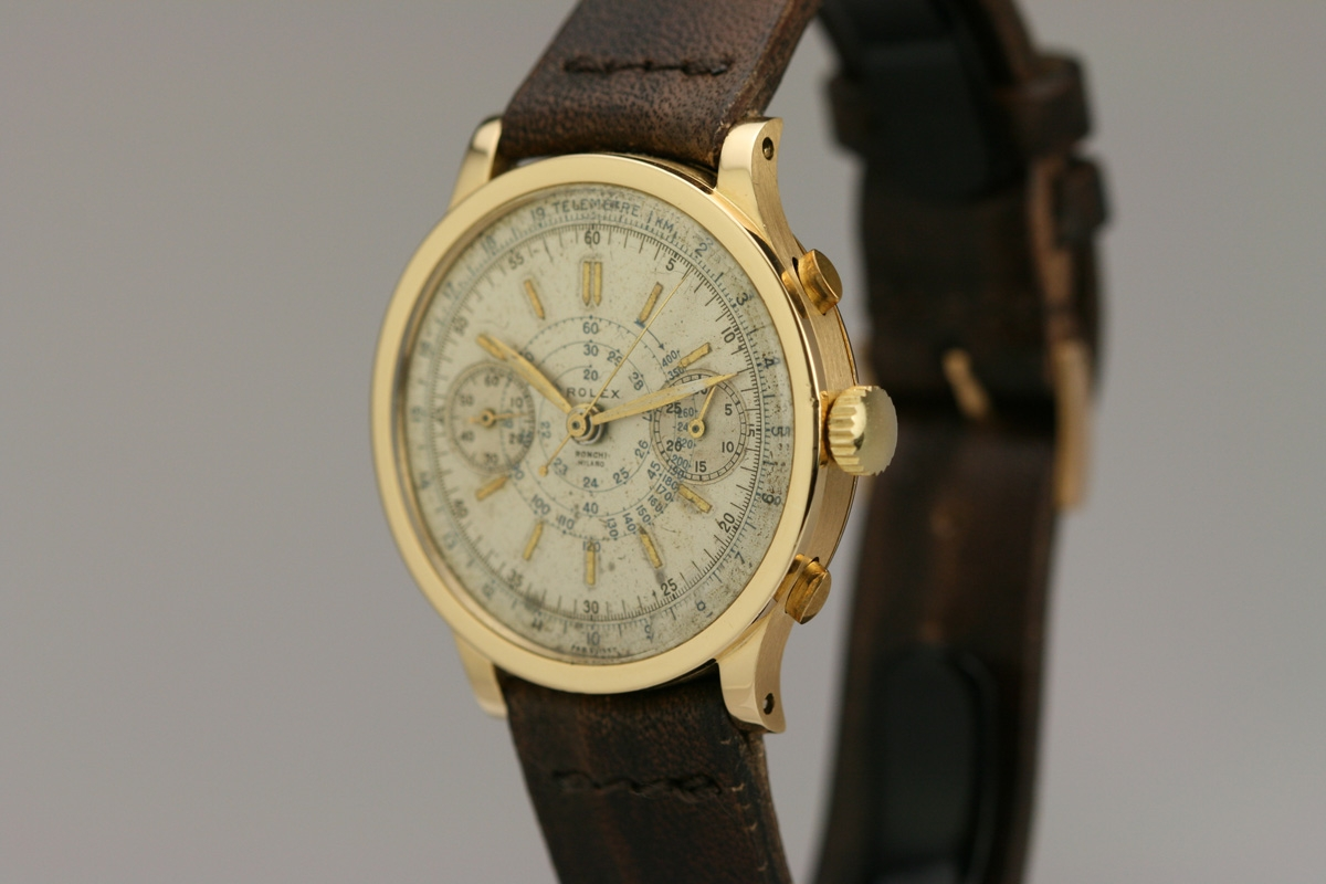Hublot Watch Price >> 1940 Rolex Chronograph Ref 2508 Watch For Sale - Mens Vintage Chronograph