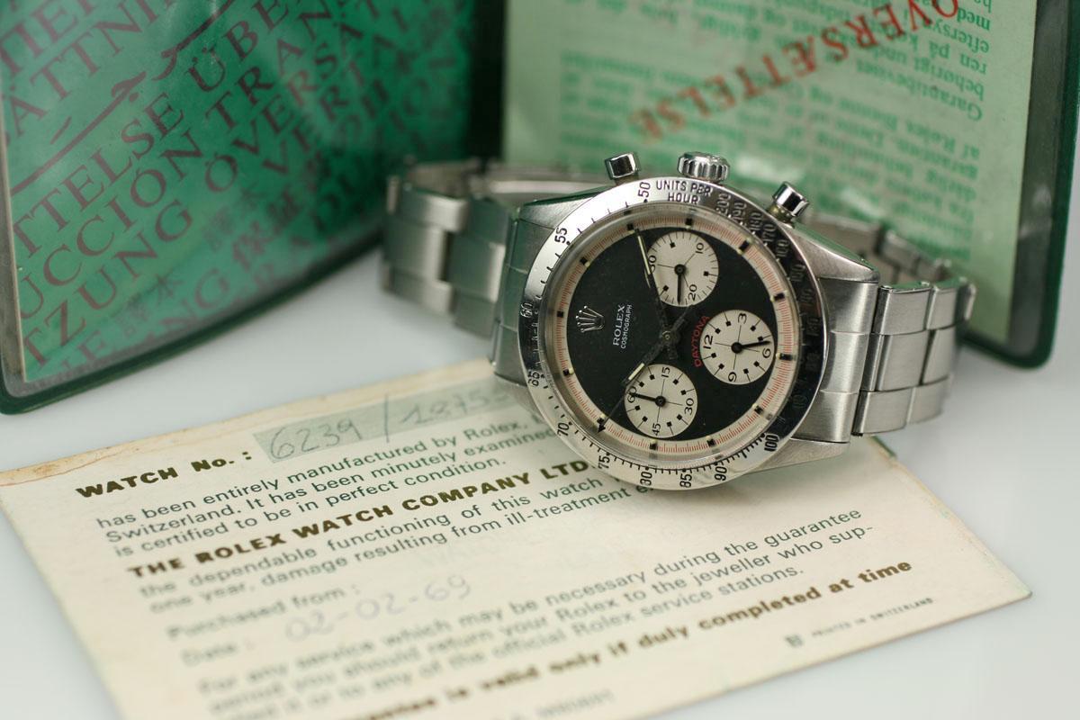 ساعت رولکس دی تونا وینتیج 1966