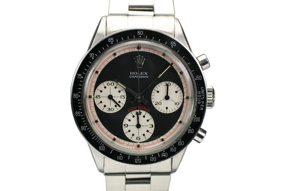 1965 Rolex Cosmograph Paul Newman Daytona Ref 6241 Watch For Sale