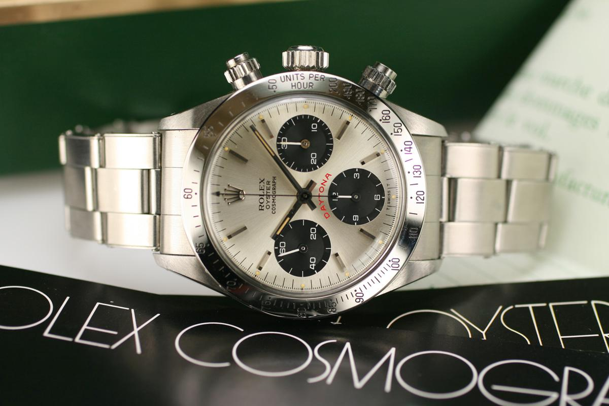 Vintage Watches For Sale >> 1978 Rolex Daytona New Old Stock Ref 6265 Watch For Sale ...
