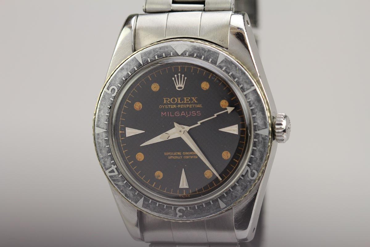 1950 Rolex Milgauss Watch For Sale Mens Vintage Time Only
