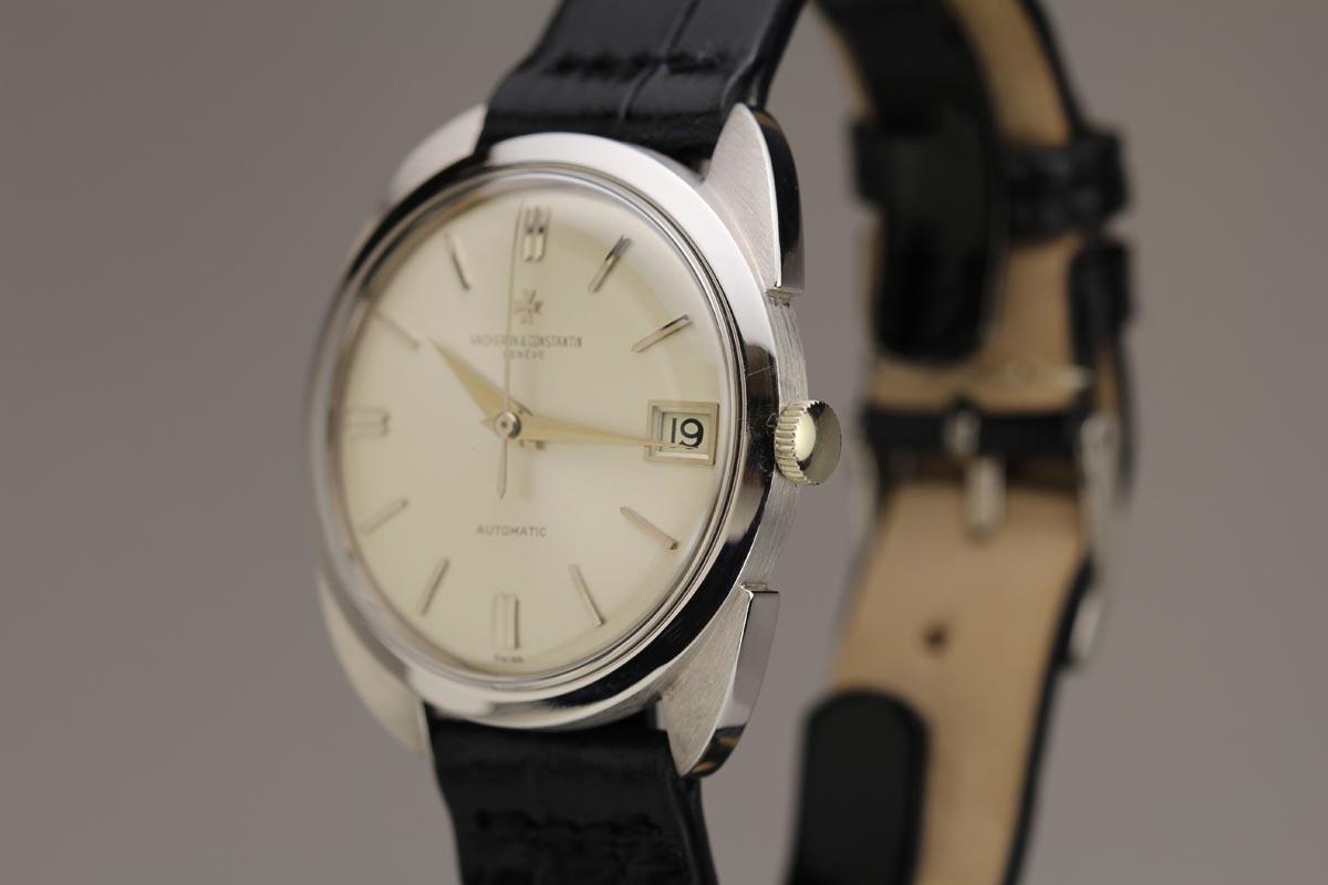 Vintage Tudor Watches >> 1960 Vacheron Constantin Royal Chronometer Ref 6694 Watch For Sale - Mens Vintage Date Time only