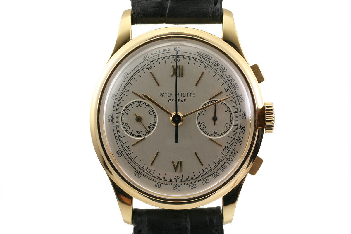 1954 patek philippe chronograph ref 530 watch for sale mens vintage chronograph for Patek phillipe watch