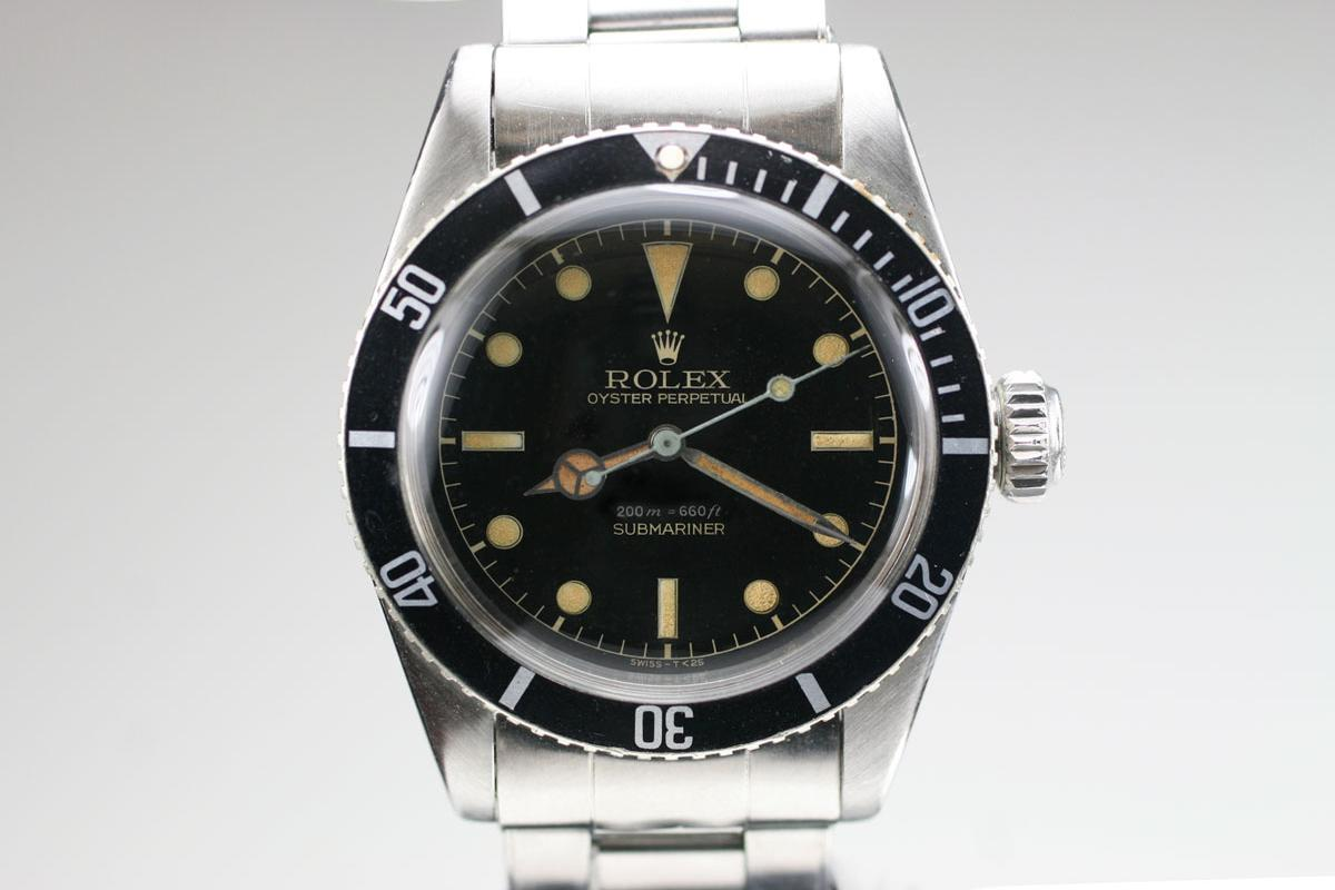 1955 Rolex James Bond Submariner Ref 6538 Watch For Sale Mens
